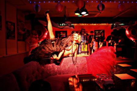 Miwa Rock (Burlesque Dancer)
