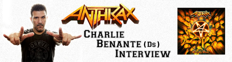 Charlie Benante(チャーリー・ベナンテ) ANTHRAX/アンスラックス