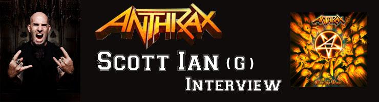 Scott Ian(スコット・イアン) ANTHRAX/アンスラックス