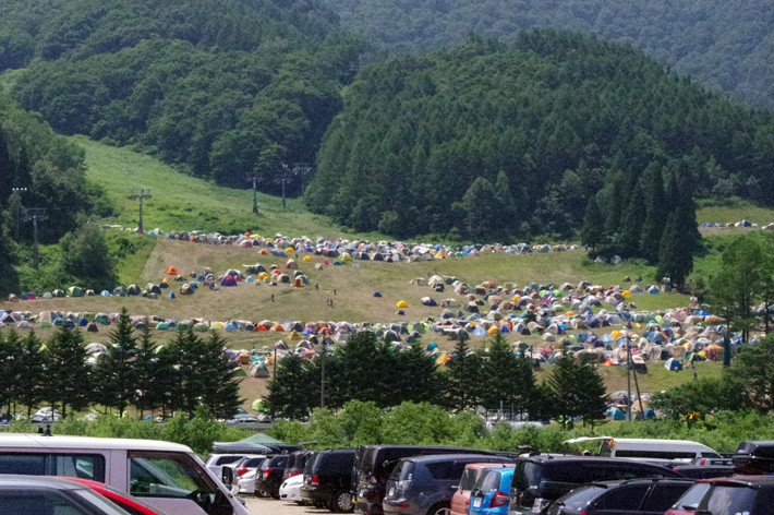 CAMP SITE@FUJI ROCK FESTIVAL '12
