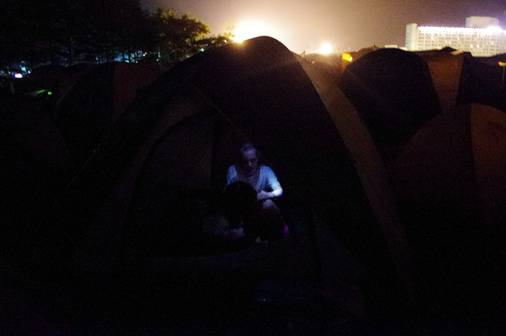 CAMP SITE@FUJI ROCK FESTIVAL '12