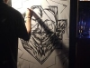 RUSOW LIVE PAINT at 渋谷plug (2011.6.16)