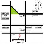 LOU DOG (大阪) map
