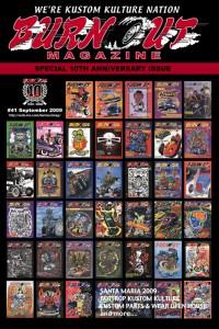 #41 10周年記念 創刊号から#40までの過去のカバーレイアウト