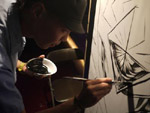 RUSOW LIVE PAINT at 渋谷plug(2011.6.16) Picture Gallery Report