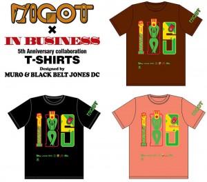 5th Anniversary T-shirts(MURO×BBJDC)
