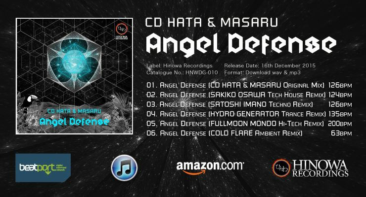 CD HATA & MASARU 『Angel Defense』 リリース記念インタビュー(CD HATA、DJ MASARU、DJ Toru aka HYDRO GENERATOR)