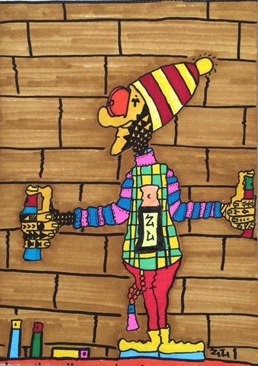 Ziv Lahat (Painter, Illustrator etc) ARTWORK