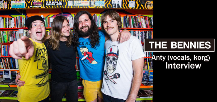 ANTY (THE BENNIES) Interview