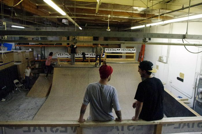 SKATE SESSION at VESTAL HEAD OFFICE in Costa Mesa, CA