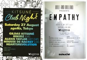 KITSUNE CLUB NIGHT & Empathy (supported by eskche)