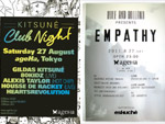 KITSUNE CLUB NIGHT & Empathy (supported by eskuche)