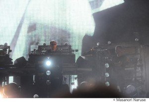 THE CHEMICAL BROTHERS@FUJI ROCK FESTIVAL '11