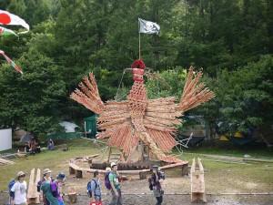 FUJI ROCK FESTIVAL '11 木の海賊と不死鳥