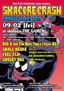 PUNKAFOOLIC! SKACORE CRASH 2011