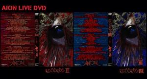 AION 『RECORDS Ⅱ』 『RECORDS Ⅲ』