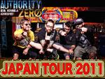AUTHORITY ZERO JAPAN TOUR