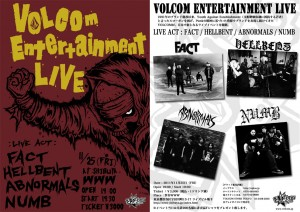 VOLCOM Entertainment LIVE