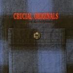 [CRUCIAL ORIGINALS]-ヘビーフランネルシャツ-BLUE-