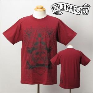 KALI KHRONIC Tシャツ Pirate バーガンディ (カリクロニック)