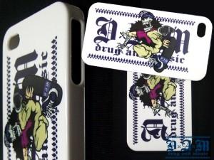 DxAxM -SK8 SKULL iPhone4&4S case-