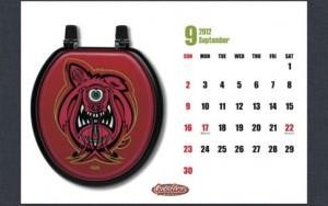 GASOLINE EAST 2012年カレンダー