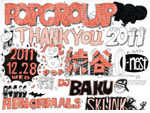 "POPGROUP Recordings presents ""THANK YOU 2011"""