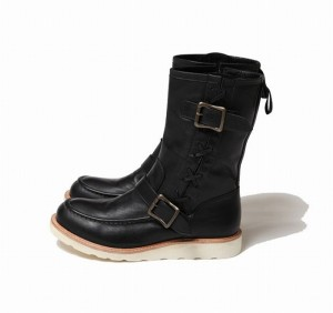 NATIVE ENGINEER BOOTS [BLACK LEATHER LIMITED] (ブーツ)
