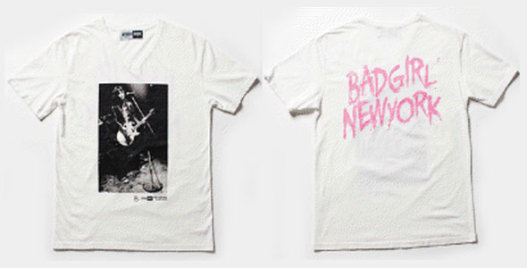 BAD GIRL NEW YORK -T
