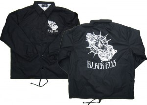 ROTTING HANDS COACH JACKET BLK