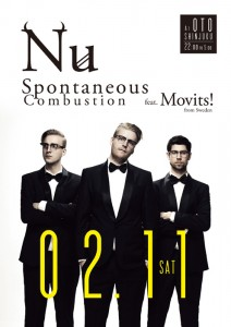 Nu Spontaneous Combustion feat.Movits! (from Sweden)
