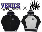 【LAF x VENICE CLASS SICKS】 RAGRAN ZIP UP PARKA
