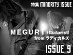 MEGURI (Guitarist) from ラディカルズ MINORITY ISSUE