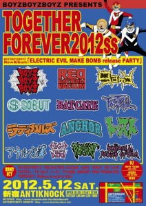 BOYZBOYZBOYZ PRESENTS 『TOGETHER FOREVER 2012SS』
