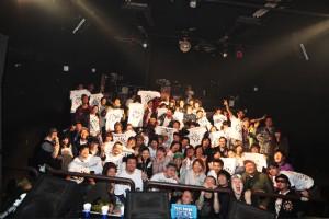 KIZUNARI TOUR 2012 『2012年3月9日(金)福島県いわき市』 at clubSONICiwaki