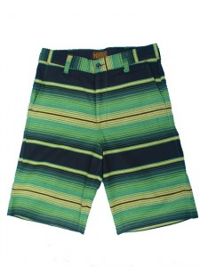ORIGINAL SERAPE SHORTS 13inch (GREEN/YELLOW)