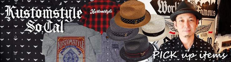 KUSTOMSTYLE - SHORT SLEVE SHIRTS & STRAW HAT