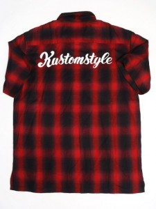 SUR CALIFAS LOGO RED CHECK S/S SHIRTS