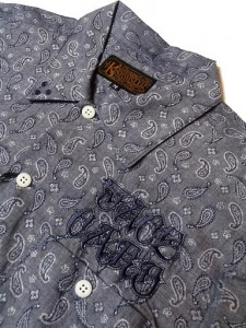 PAISLEY S/S SHIRTS FACE CARD LOGO