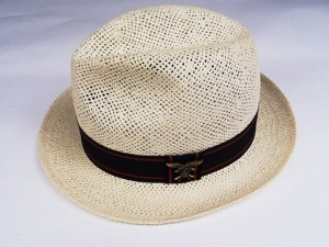 SSS EAGLE/RED LINE STRAW HAT / NATURAL