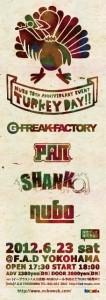 "NUBO 10th Anniversary Event ""TURKEY DAY!!"""