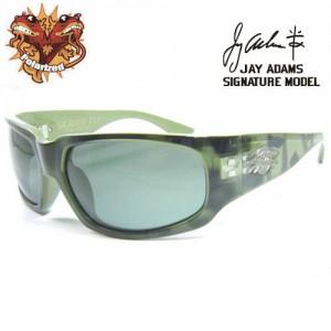 SKATERFLY(JAYADAMSシグネーチャーモデル) グリーン スネーク/G-15グリーン(偏光レンズ)