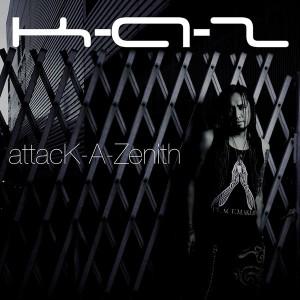 K-A-Z 1st solo album『attacK-A-Zenith』 RELEASE
