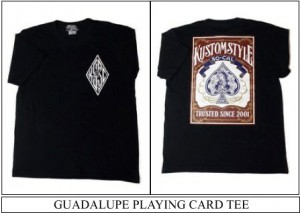 GUADALUPE PLAYING CARD TEE