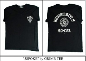 """5SPOKE"" by GRIMB TEE"