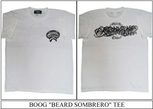 "BOOG ""BEARD SOMBRERO"" TEE"