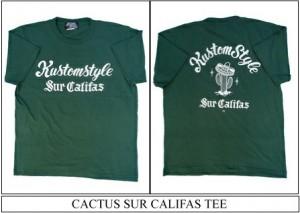 CACTUS SUR CALIFAS TEE