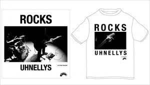 UHNELLYS - ROCKS (7inc RECORD)※Tシャツ付き