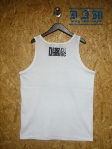[DxAxM-Frilled Lizard TANK TOP-WHiTE-
