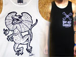 [DxAxM] We Are Family TANK TOP & Frilled Lizard TANK TOP